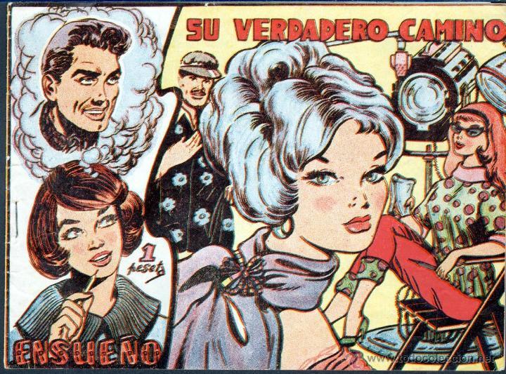 TEBEOS-COMICS GOYO - ENSUEÑO - Nº 4 - FERMA - 1958 - MUY DIFICIL - MUY BUENO *AA99 (Tebeos y Comics - Ferma - Otros)