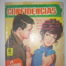 Tebeos: CONFIDENCIAS. Nº228. LA ACUSARON DE INFIEL. EDITORIAL FERMA. 1962 MIDE: 16,3 X 11,6 CMS. . Lote 41106238