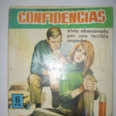 Tebeos: CONFIDENCIAS. Nº220. DUDA ENTRE DOS AMORES. EDITORIAL FERMA. 1962 MIDE: 16,3 X 11,6 CMS. . Lote 41106271