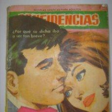 Tebeos: CONFIDENCIAS. Nº288. IDILIO DE UN DIA. EDITORIAL FERMA. 1962 MIDE: 16,3 X 11,6 CMS. . Lote 41106494