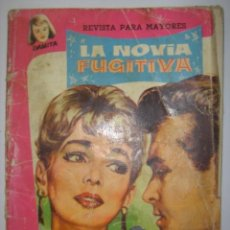 Tebeos: DAMITA. LA NOVIA FUGITIVA. REVISTA PARA MAYORES. 1958. MIDE: 17,6 X 13,4 CMS.. Lote 41106637