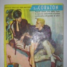 Tebeos: SERIE CORAZÓN. HEREDERA CAPRICHOSA. Nº181. 1962. MIDE: 16,6 X 12 CMS.. Lote 41111000
