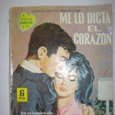 Tebeos: SERIE AMOR. ME LO DICTA EL CORAZÓN. Nº173. 1962. MIDE: 16,6 X 12 CMS.. Lote 41111274