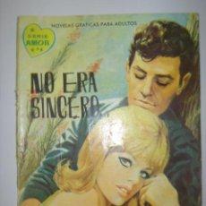 Tebeos: SERIE AMOR. NO ERA SINCERO. Nº175. 1962. MIDE: 16,6 X 12 CMS.. Lote 41111306