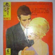 Tebeos: SERIE ROMANCE. FINGIENDO AMOR. Nº164. 1962. MIDE: 16,6 X 11,8 CMS.. Lote 41111481