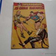 Tebeos: SUPERHOMBRE Nº 27 FERMA ORIGINAL. Lote 41126753