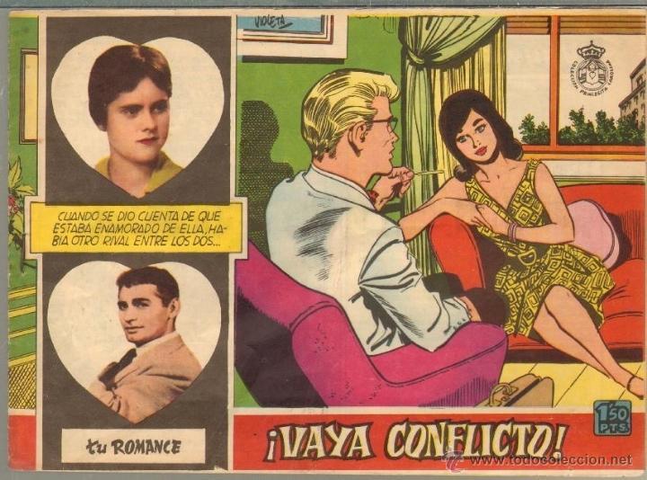TEBEOS-COMICS CANDY - TU ROMANCE - 9 - FERMA - 1959 - VAYA CONFLICTO - MUY DIFICIL *XX99 (Tebeos y Comics - Ferma - Otros)