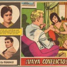 Tebeos: TEBEOS-COMICS CANDY - TU ROMANCE - 9 - FERMA - 1959 - VAYA CONFLICTO - MUY DIFICIL *XX99. Lote 41661790