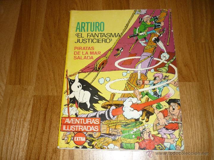 ARTURO EL FANTASMA JUSTICIERO. PIRATAS DE LA MAR SALADA. FERMA 1965 (Tebeos y Comics - Ferma - Otros)