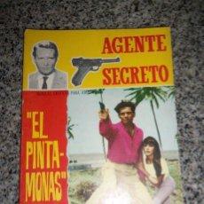 Tebeos: EL PINTA MONAS, POR R. DICKINSON - DIB.: COLLADO/ SERIE AGENTE SECRETO Nº 19 - FERMA - ESPAÑA - 1966. Lote 41793172