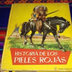 Tebeos: COLECCIÓN JUVENIL AMARILLA Nº 44 HISTORIA DE LOS PIELES ROJAS. FERMA 1962. DIFÍCIL!!!!. Lote 42070206