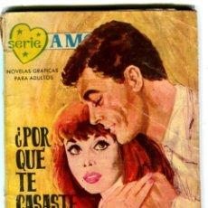 Tebeos: SERIE AMOR ED. FERMA AÑO 1962. Lote 42072109