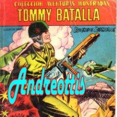 Tebeos: TOMMY BATALLA Nº 10. COLECCIÓN AVENTURAS ILUSTRADAS FERMA. AÑO: 1958. PORTADA DE MACABICH . Lote 42278181
