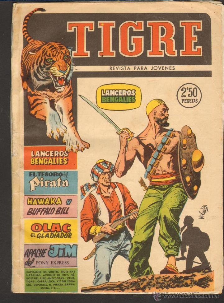 TEBEOS-COMICS CANDY - TIGRE - Nº 6 - ED. FERMA - 1960 - ORIGINAL *CC99 (Tebeos y Comics - Ferma - Otros)