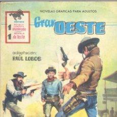 Tebeos: GRAN OESTE Nº203. EDITORIAL FERMA, 1962. Lote 42334704