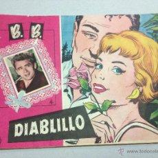 Livros de Banda Desenhada: COLECCION CAROLINA - DIABLILLO - JAMES DEAN EN LA CONTRAPORTADA - AÑO 1959. Lote 42599939