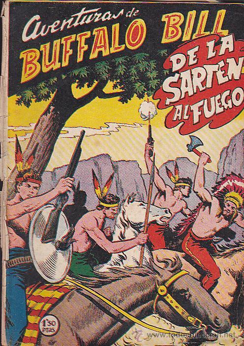 COMIC AVENTURAS DE BUFFALO BILL Nº 11 (Tebeos y Comics - Ferma - Otros)