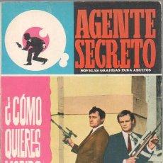 Tebeos: AGENTE SECRETO Nº 27 EDI.FERMA 1966. Lote 42964463