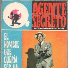 Tebeos: AGENTE SECRETO Nº 35 EDI.FERMA 1966. Lote 42964512