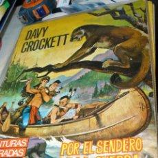 Tebeos: TEBEOS-COMICS CANDY - IMAGENES Y AVENTURAS - DAVY CROCKETT 1965 - FERMA - KLINE *AA99. Lote 43068465