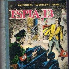 Tebeos: LIBRO RETAPADO COMICS VARIOS ESPIA 13,KIT CARSON, BUCK JONES ,ROBIN HOOD. Lote 43452592
