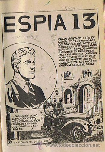 Tebeos: LIBRO RETAPADO COMICS VARIOS ESPIA 13,KIT CARSON, BUCK JONES ,ROBIN HOOD - Foto 2 - 43452592