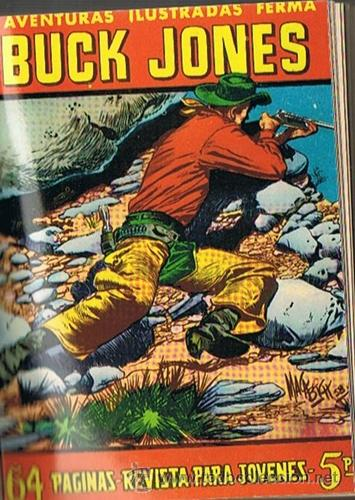 Tebeos: LIBRO RETAPADO COMICS VARIOS ESPIA 13,KIT CARSON, BUCK JONES ,ROBIN HOOD - Foto 4 - 43452592