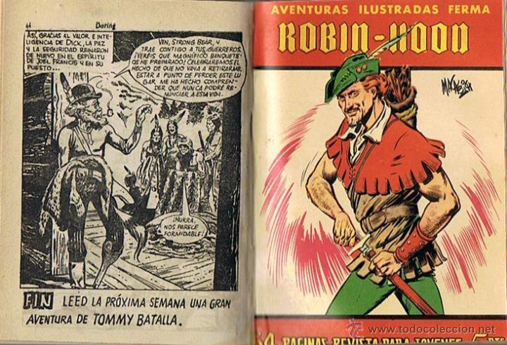 Tebeos: LIBRO RETAPADO COMICS VARIOS ESPIA 13,KIT CARSON, BUCK JONES ,ROBIN HOOD - Foto 7 - 43452592