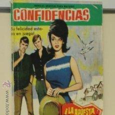 BDs: CONFIDENCIAS Nº 189 LA APUESTA ERA UNA MUJER - FERMA. Lote 43816352