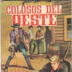 Livros de Banda Desenhada: COLOSOS DEL OESTE Nº 63 EDI. FERMA 1964 -IRINA DEMIC FOTO CONTRAPORTADA. Lote 44048313
