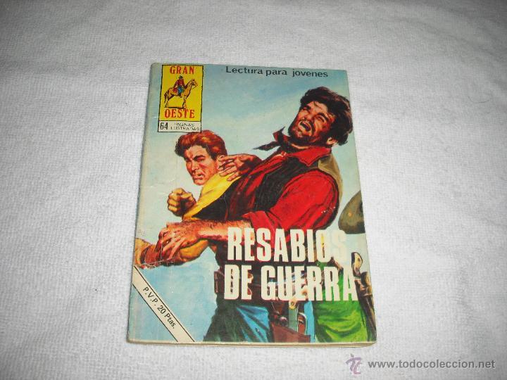 GRAN OESTE 377. RESABIOS DE GUERRA (Tebeos y Comics - Ferma - Gran Oeste)