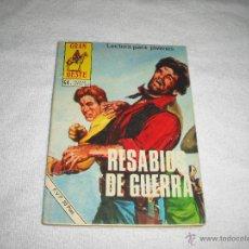 Tebeos: GRAN OESTE 377. RESABIOS DE GUERRA. Lote 44462118