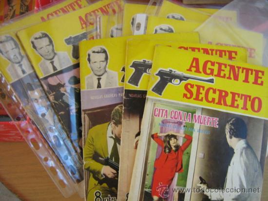 FERMA.- AGENTE SECRETO, LOTE (Tebeos y Comics - Ferma - Agente Secreto)