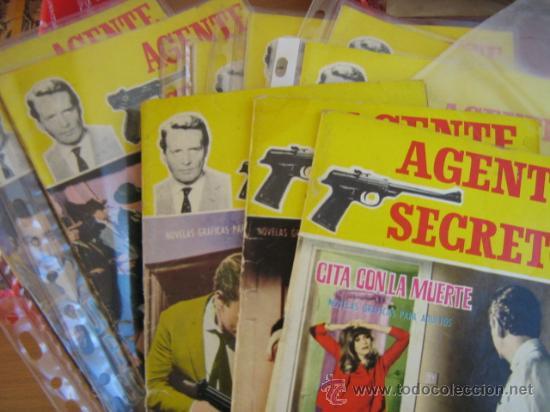 Tebeos: ferma.- agente secreto, lote - Foto 5 - 222412850