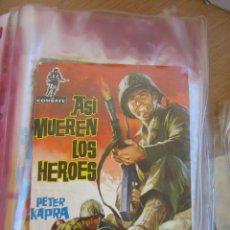 Tebeos: FERMA.- COMBATE Nº 1, PEQUEÑO - ASÍ MUEREN LOS HEROES. Lote 44823405