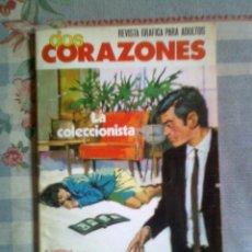 Giornalini: DOS CORAZONES- Nº 2 -LA COLECCIONISTA- FLAMANTE-BELLO ARTE DE JULIANA BUSCH-1980-DIFÍCIL-2367. Lote 45110761