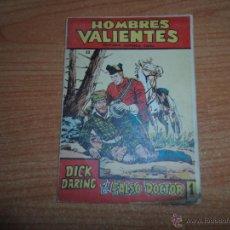 Tebeos: HOMBRES VALIENTES Nº 23 DICK DARING EDITORIAL FERMA . Lote 45124450