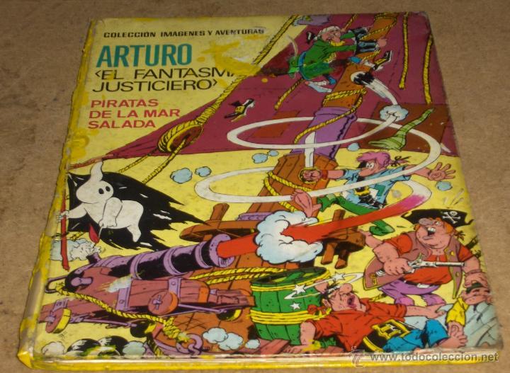 ARTURO EL FANTASMA JUSTICIERO. PIRATAS DE LA MAR SALADA. ED. FERMA 1965. TAPA DURA. PORTES GRATIS. (Tebeos y Comics - Ferma - Otros)