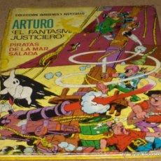 Tebeos: ARTURO EL FANTASMA JUSTICIERO. PIRATAS DE LA MAR SALADA. ED. FERMA 1965. TAPA DURA. PORTES GRATIS.. Lote 45135054