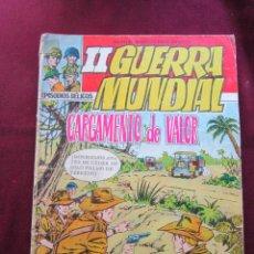 Tebeos: SEGUNDA II GUERRA MUNDIAL EDITORIAL FERMA 1967. Nº 3. CARGAMENTO DE VALOR. EPISODIOS BÉLICOS. Lote 45167735
