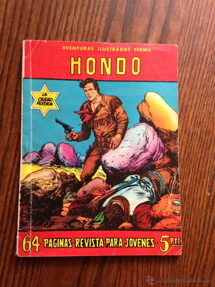 HONDO LA CIUDAD PERDIDA (Tebeos y Comics - Ferma - Aventuras Ilustradas)
