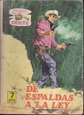 COMIC COLECCION SENDAS DEL OESTE Nº 333 (Tebeos y Comics - Ferma - Otros)