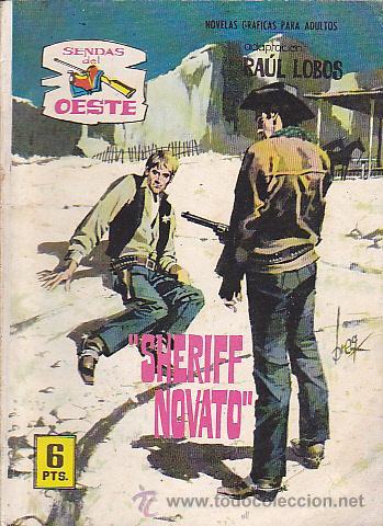 COMIC COLECCION SENDAS DEL OESTE Nº 284 (Tebeos y Comics - Ferma - Otros)