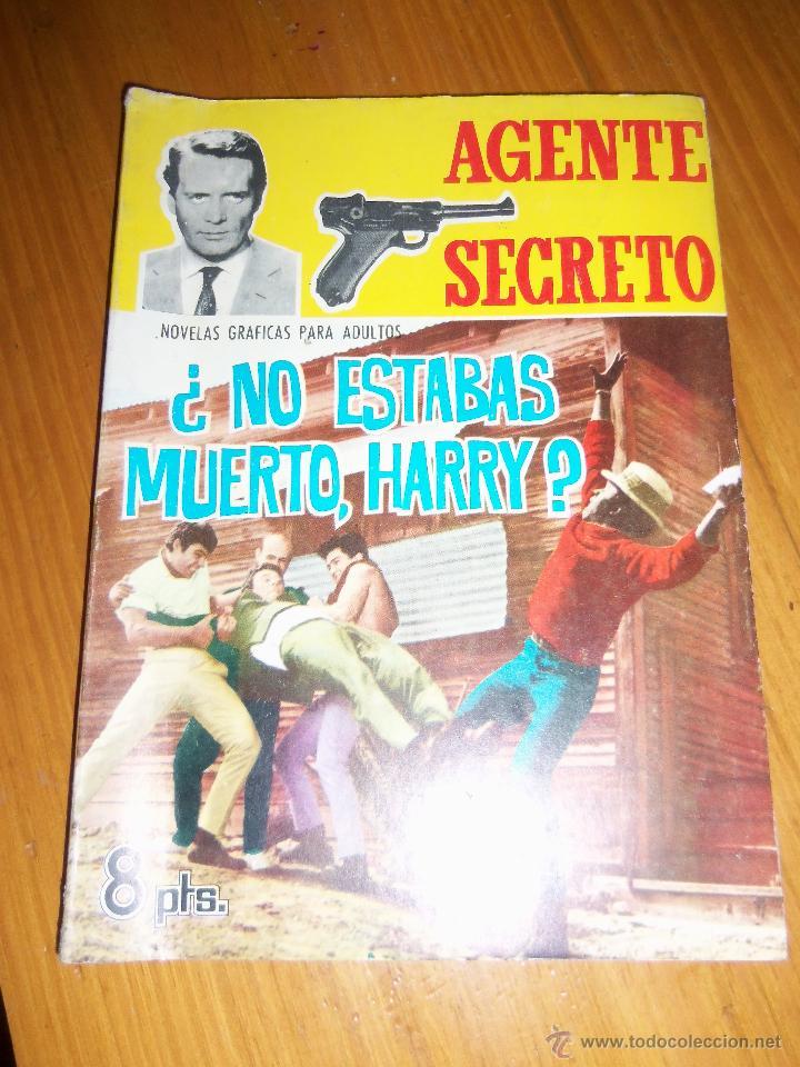 ¿NO ESTABAS MUERTO, HARRY? - FERMA - Nº 20 - ESPAÑA - 1966 - RARO (Tebeos y Comics - Ferma - Agente Secreto)