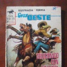 Tebeos: GRAN OESTE Nº 278 EDITORIAL FERMA. Lote 55859188