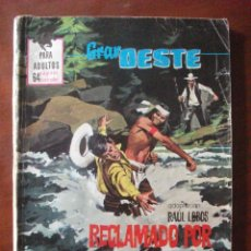 Tebeos: GRAN OESTE Nº 389 EDITORIAL FERMA. Lote 45452960