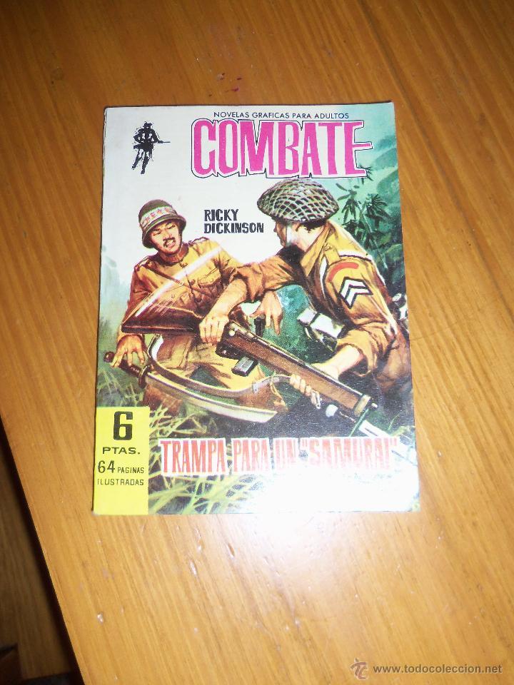 TRAMPA PARA UN SAMURAI, POR RICKY DICKINSON - Nº 114 - ESPAÑA - FERMA - 1962 - COMO NUEVO (Tebeos y Comics - Ferma - Combate)