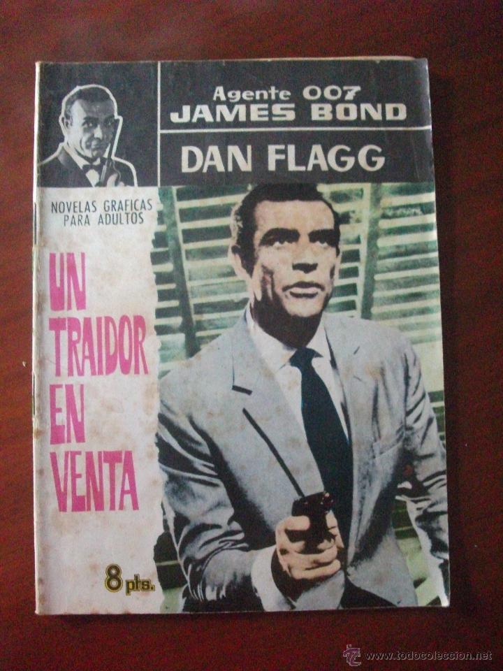 JAMES BOND / DAN FLAGG UN TRAIDOR EN VENTA EDITORIAL FERMA (Tebeos y Comics - Ferma - Otros)
