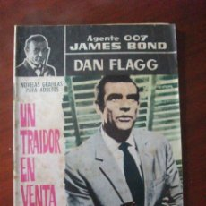 Tebeos: JAMES BOND / DAN FLAGG UN TRAIDOR EN VENTA EDITORIAL FERMA. Lote 55859420