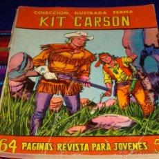 Tebeos: COLECCIÓN ILUSTRADA FERMA Nº 57 KIT CARSON. FERMA 1958.. Lote 45610980